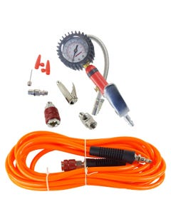Air Pump Up Tire Inflation Kit airmaxxx Fill Gauge With 20 Foot ARB Hose & Fittings