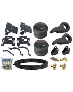 Level Lift Kit 2001-2010 Chevy 8 Lug Truck Front Torsion Keys & Rear Air Suspension