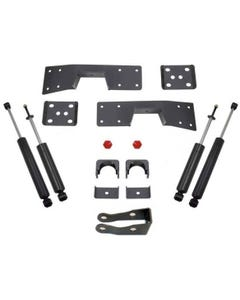 """1999-2006 Chevy Silverado 1500 2wd 6"""" Lowering Kit W/ Front And Rear MaxTrac Shocks - MaxTrac 200960"""