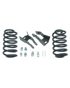 2015-17 GM SUV 2 REAR LOWERING COILS W/ SHOCK EXTENDERS W/ AIR RIDE SENSOR RODS MaxTrac-201020
