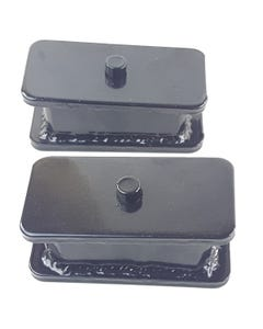 """3"""" Fabricated Steel Lift Blocks Pair For Rear Axle 1996-2018 Toyota Tacoma Truck"""