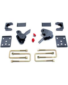 "2015-2017 Ford F-150 2wd/4wd 4"" Rear Flip Kit With Hangers - MaxTrac 303240"