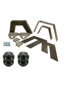 """Rear Universal Weld on Kit 8"""" Frame Notch Triangulated 4 Link Slam SS-6 Bags"""