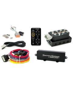 AccuAir VU4 Manifold & SwitchSpeed Controller Nickel