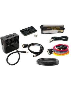 AccuAir VX4 Solenoid Valve & SwitchSpeed Controller Black