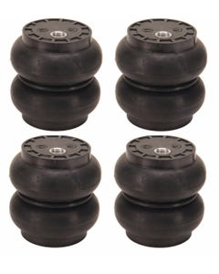 "4 SS-5 Slam Bags Air Ride Suspension 5.5"" Round 1/2""npt Port"