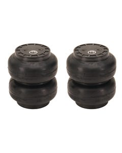 "2 SS-6 Slam Bags Air Ride Suspension 6"" Round 1/2""npt Port"