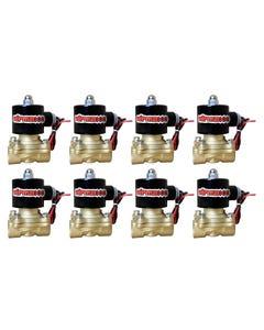 "8 Brass Valves 1/2""npt Air Ride Suspension"