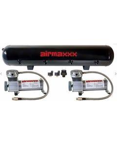 Air Compressors 400 Pewter airmaxxx 5 Gallon Air Tank 200 psi Air Suspension Kit