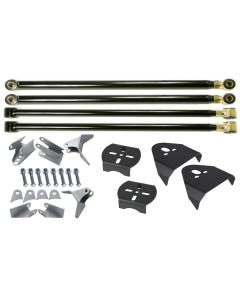 REAR TRIANGULATED 4 LINK w/ OVER AXLE BAG MOUNTS