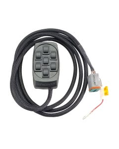AVS Black 7 Rocker Switch Controller (AVS-ARC-7-BK)