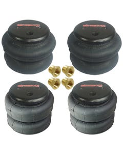 "(2) - 2500 AND (2) - 2600 3/8"" PORT AIR BAGS"