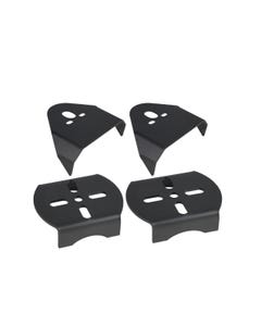 Weld On Upper & Lower Air Bag Mounting Brackets Mounts Air Ride Suspension