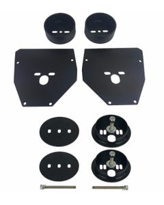 Chevy C10 Front & Rear Air Ride Suspension Brackets For Air Bags 1963-1972 C-10