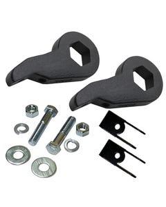 Lift Kit Chevy Torsion Key & Shock Extenders Blk 00-06 Suv & Avalanche 4X4 6 Lug