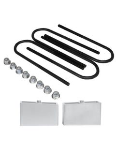 "2"" Lowering Blocks Chevy S10 Drop Kit & Rear Axle U Bolts GMC Sonoma Aluminum"
