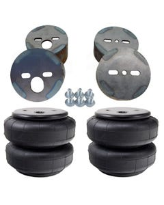 Air Ride Suspension Front D2600 Air Bags & Mounting Cups For 1988-98 Chevy Truck