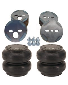 Air Ride Suspension Front SS7 Air Bags & Mounting Cups For 1988-98 Chevy Truck