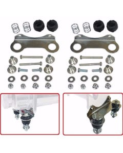 Compressor Vibration Isolator Upgrade Feet For Single Viair 444 Chrome System