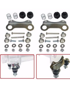 Air Compressor Vibration Isolator Upgrade Feet For Single Viair 480 Chrome Kit