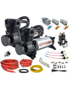 airmaxxx black 480 air compressor dual pack & wiring kit
