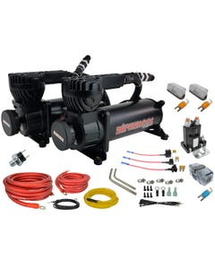 airmaxxx black 580 air compressor dual pack & wiring kit