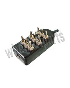 AVS 9 Switch Box (black, toggle)