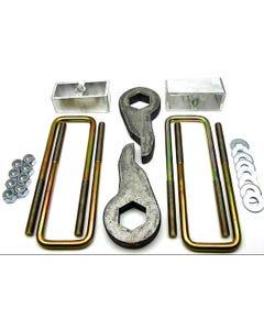 """Lift Kit Front Torsion Keys & Rear 3"""" Blocks 1988 - 1998 GM K1500 4X4 Truck & SUV"""