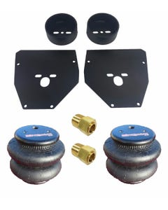 """Chevy C10 Front Air Suspension Brackets 2600 Bags Air Ride 3/8"""" 1973-87 Bolt On"""