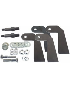 Universal Shock Relocator Brackets & P19 Stud Mount For Custom Car Or Truck