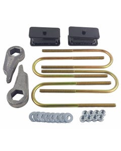"""Ford Ranger Lift Kit Cast Torsion Keys 2"""" Fabricated Steel Blocks 1998-2011 4X4"""