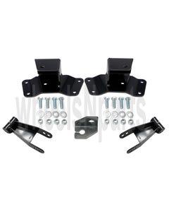 "4"" Lowering Drop Shackles & Hangers Kit 1988-98 Chevy 1500 Truck"