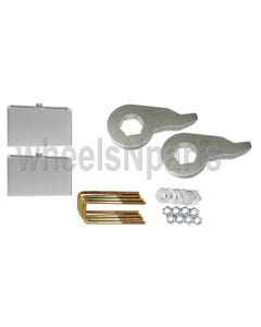 "Lift Kit Chevy 1992 - 1999 K1500 6 Lug Forged Torsion Keys & 4"" Aluminum Blocks"