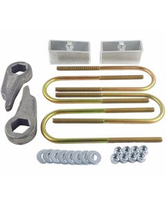 "Lift Kit Cast Torsion Keys 2"" Aluminum Blocks & Ubolts 1998 - 10 Ford Ranger 4X4 4X2"