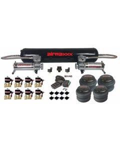 """Air Compressors 480 Chrome 1/2""""npt Air Bag 2500 & 2600 Black 9 Switch"""