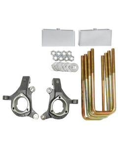 "Chevy Lift Spindles Kit 1999 - 06 1500 Trucks 3"" / 2"" Aluminum Suspension Blocks"