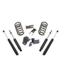 1988-1998 GM V6 C1500 & C2500 2/4 Lowering Kit - MaxTrac K330524-6