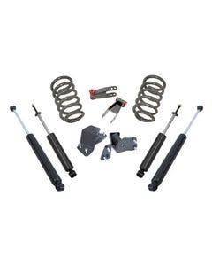 1988-1998 GM V8 C1500 & C2500 2/4 Lowering Kit - MaxTrac K330524-8