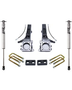 "2005-2019 Toyota Tacoma 2wd (6 lug) 4""/2"" Lift Kit W/ FOX Shocks - MaxTrac K886842F"