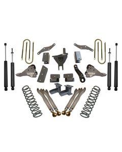 "2017-2019 Ford F250/350 Dually 4wd 4"" Forged Four Link Lift Kit W/ MaxTrac Shocks - K943341L"