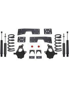 "1999-2006 Chevy Silverado 1500 2wd 3/5"" Lowering Kit - MaxTrac KS330935-6"