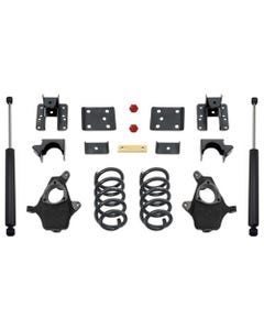 "2014-2016 GM 1500 2wd/4wd (Single Cab) 4/6"" Lowering Kit - MaxTrac KS331546-6"