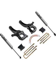 "2015-2019 GMC Canyon 2wd 4/2"" Lift Kit W/ Fox Shocks - MaxTrac K880442F"