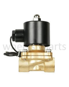 "Air Ride Suspension Valve 1/2""npt Electric Solenoid Brass"