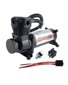 Air Ride Suspension Compressor 480 Black Airmaxxx 165Psi On 200Psi Off Switch