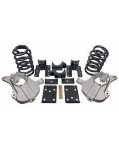"""2016-18 Chevy Silverado Lowering Kit 4""""/6"""" Forged Aluminum Spindles W/Springs & Flip"""