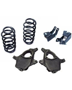 """2007-14 Chevy Tahoe GMC Yukon 2"""" / 4"""" Lowering Suspension Drop Kit Spindle Coil"""