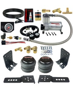 Air Suspension Helper Spring Kit Tow Assist Over Leaf Custom On Board Air In Cab