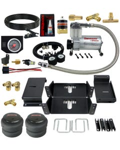Towing Level Rear Air Spring Kit With In Cab Control 1980 - 97 Ford F250 Truck